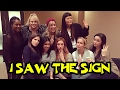 Pitch Perfect Cast Singing 'The Sign' - On the Set of Pitch Perfect 3