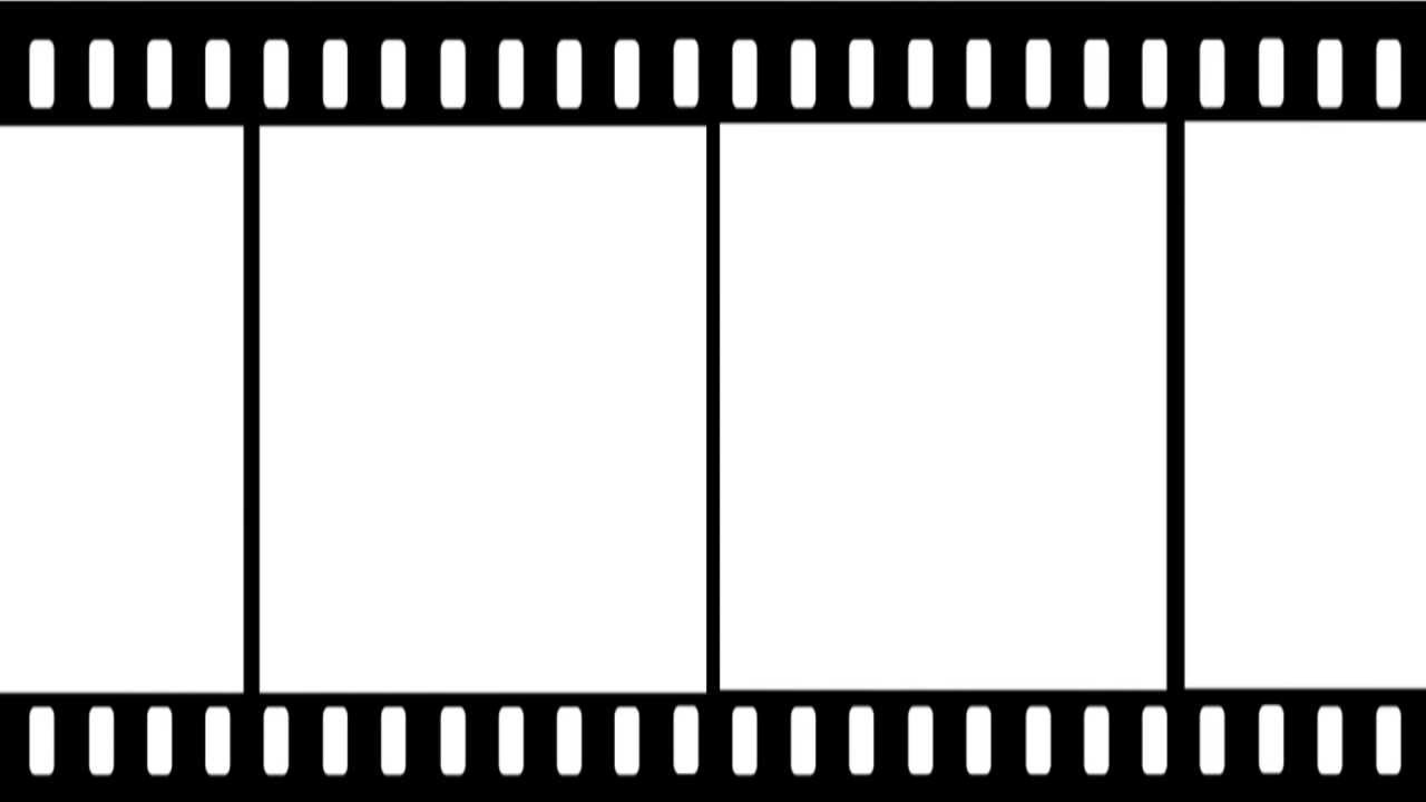free film strip video effect - youtube, Powerpoint templates
