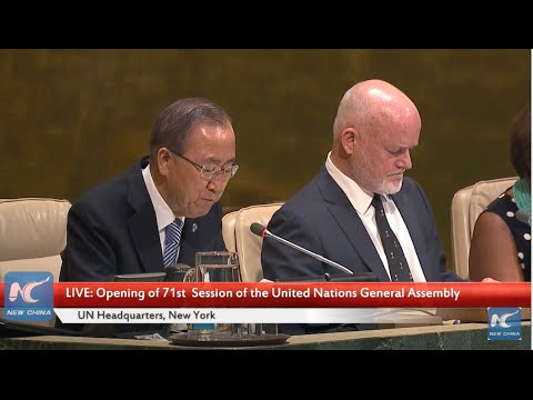 LIVE: The 71st session of United Nations General Assembly begins