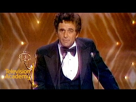Peter Falk Wins Outstanding Lead Actor for COLUMBO  Emmys Archive 1975