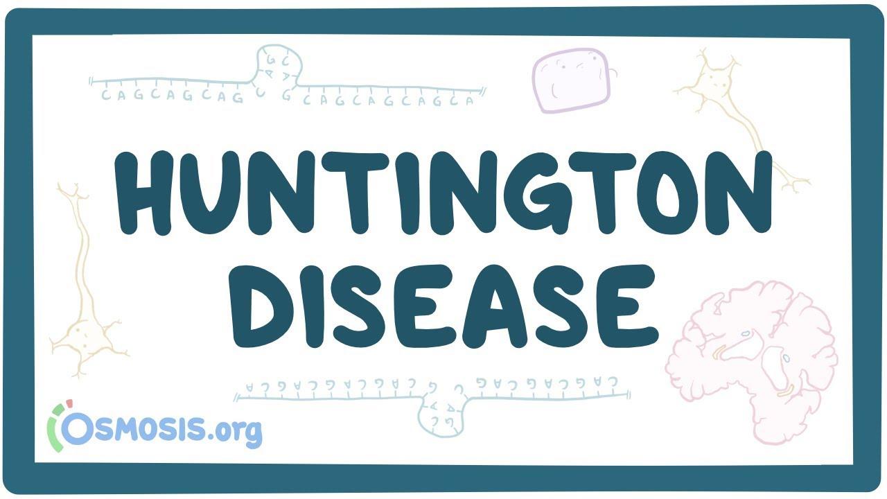 Huntington disease – causes, symptoms, diagnosis, treatment & pathology