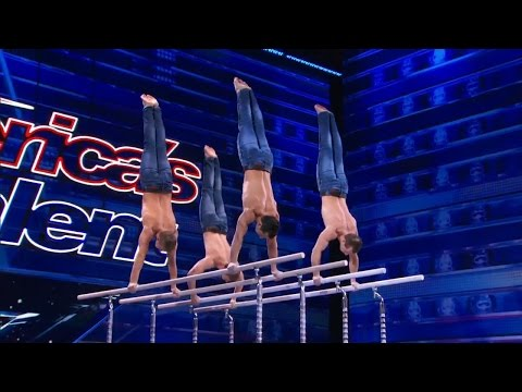 America's Got Talent 2015 S10E01 Showproject Outstanding Gymnastic Routine