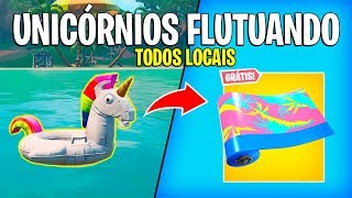 FORTNITE-LOCAL UNICORNS FLOATING! FREE ENVELOPAMENTO SUMMER EVENT!