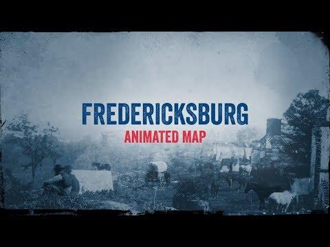Fredericksburg: Animated Battle Map