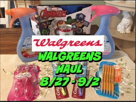 WALGREENS HAUL 8/27 - 9/2 | JUST 14¢ FOR EVERYTHING!!!