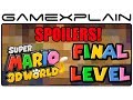 Super Mario 3D World: The Great Tower of Bowser Land Playthrough Final Level