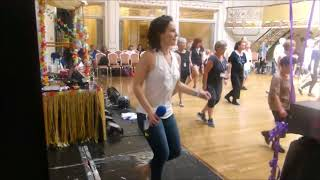 Diggin' line dance by Amy Glass (taught at Eurodance 2018)