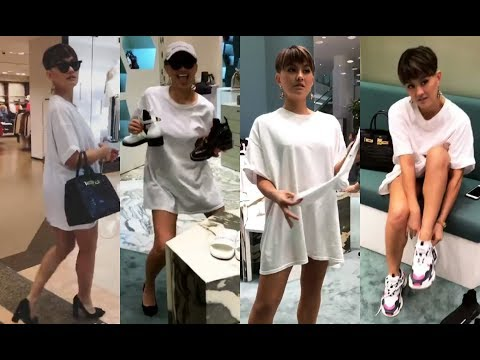 AGNEZ MO Shopping Day in Jakarta Mall 😘