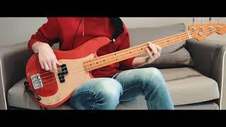 Paul McCartney - Slidin' (Bass Cover with Tabs in description)