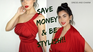 Ways to Wear Convertible Dresses From Dress and Charm ! Be Stylish & Save Money