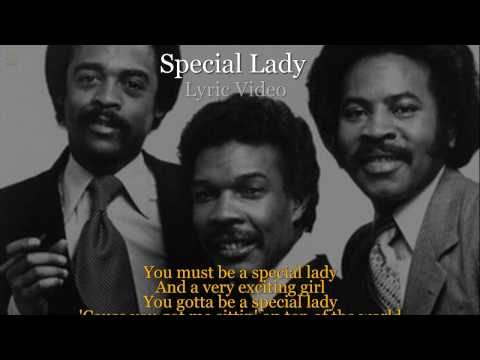 Special Lady - Ray, Goodman & Brown (Lyric Video) [HQ Audio]