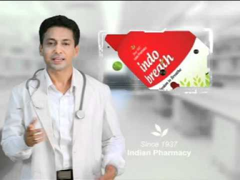 Ray Paul Manoj in Tv Commercial for Indo Breath