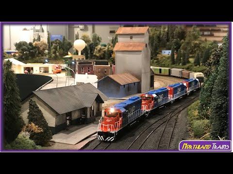 Saturday Night at North Metro Model Railroad Club: DW&P