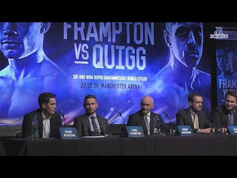 CARL FRAMPTON VS SCOTT QUIGG | UNCUT BELFAST PRESS CONFERENCE: 18/11/15