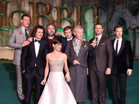 the hobbit cast say farewell youtube