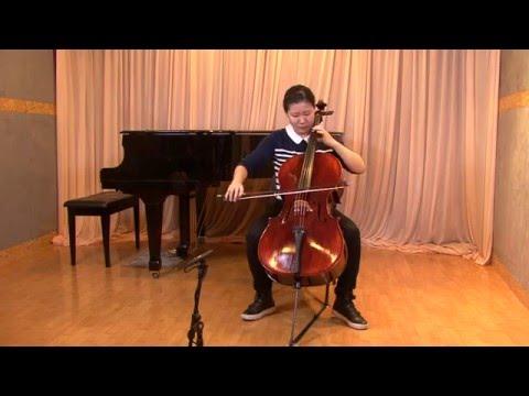 Bach Saraband - Yue Kang