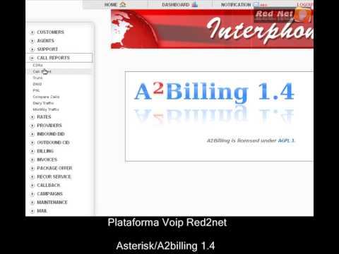 Asterisk A2billing 1.4/Plataforma VOIP/Parte1