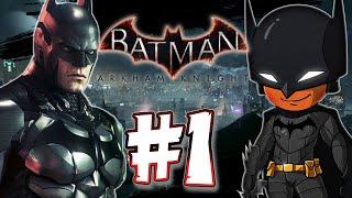 Batman Arkham Knight 1080p 60FPS: Part 1 - Opening & Batmobile!