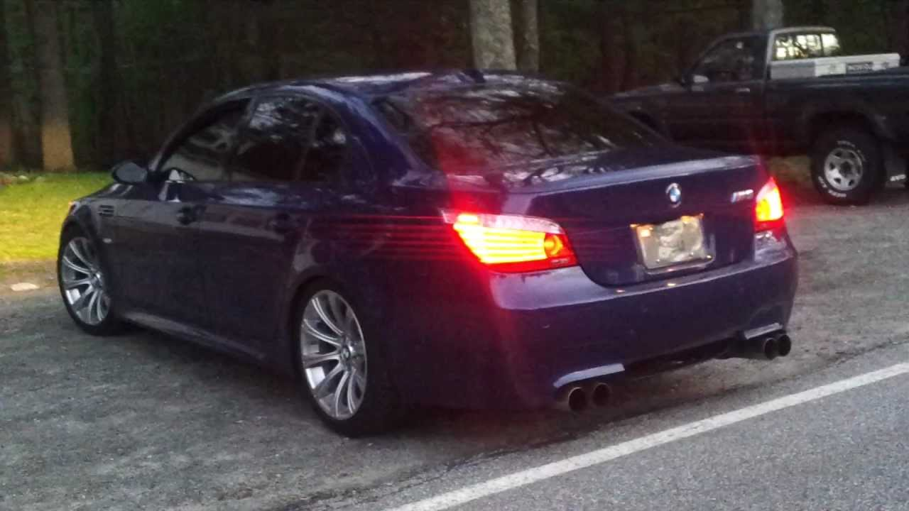 2009 bmw m5 e60 6spd with dinan exhaust revving youtube. Black Bedroom Furniture Sets. Home Design Ideas