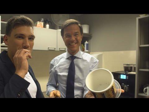 360 video: rondkijken bij premier Mark Rutte