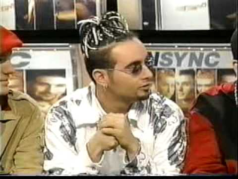 NSYNC on Loveline Part 1