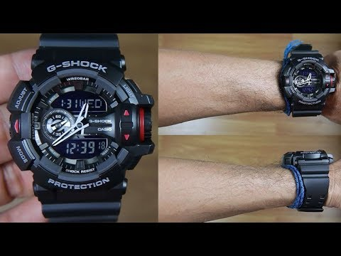 4b88099847f1 CASIO G-SHOCK GA-400-1B  BEST SELLER SERIES  - UNBOXING - YouTube