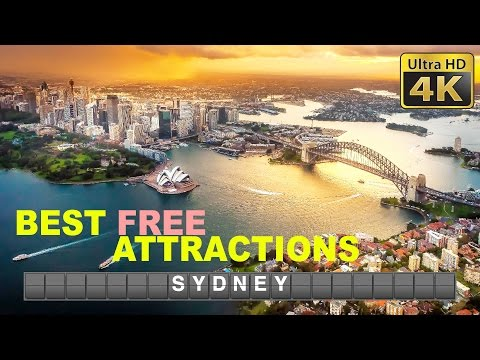 DIY Budget Travel (4K) - Sydney & Blue Mountains, best FREE attractions and cheap eats 2017