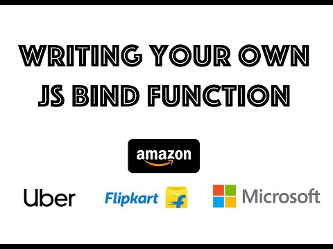 #javascript Implementing your own bind function in javascript thumbnail