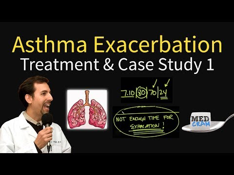 Asthma Exacerbation Case Study 1 - Treatment (Asthma Flare / Attack)
