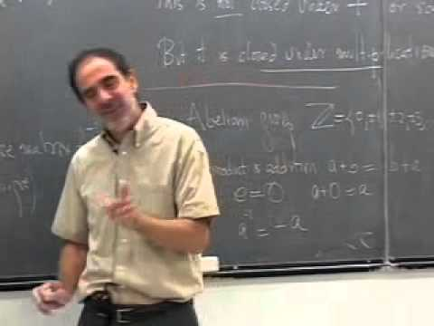 06. Examples of Abelian groups- (Z,+), (V,+)