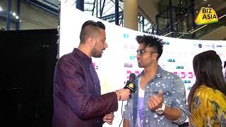 BizAsia meets Hardy Sandhu at the Punjabi Film Awards 2018