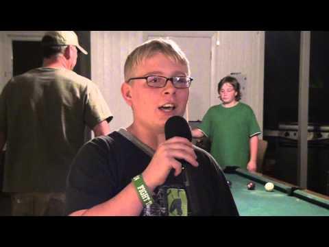 Ashton Brewer doing Karaoke