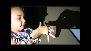 LEARNING HOW TO MAKE HAND SHADOW PUPPETS | Day 2178
