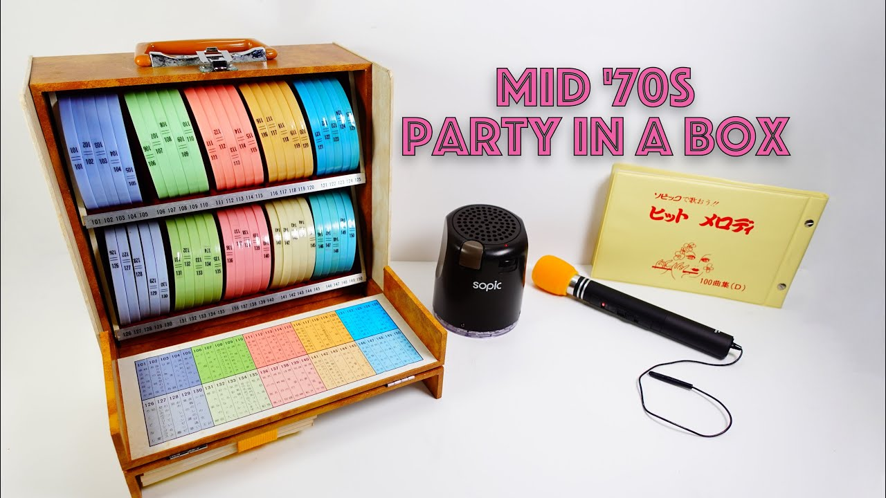 Mid '70s party in a box