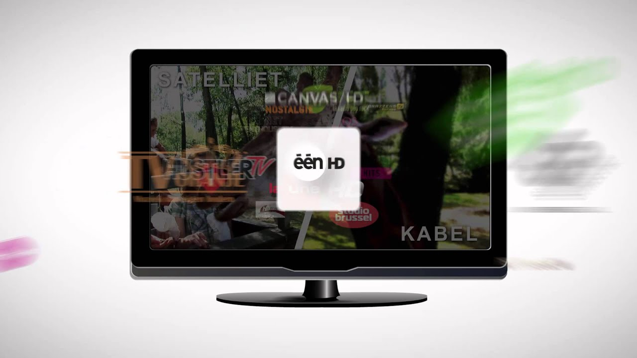 Tv Digitale Digitale Tv Van Tv Vlaanderen