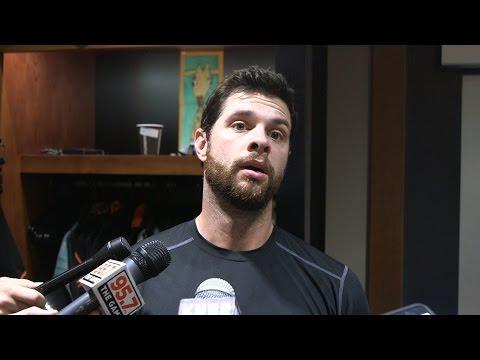 Brandon Belt surprised when he hears Giants' recent record