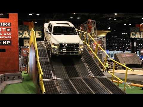Ram Truck Territory Test Track debuts at CAS