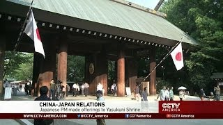 China Criticizes Japanese Prime Minister for Skipping Visit to War Shrine