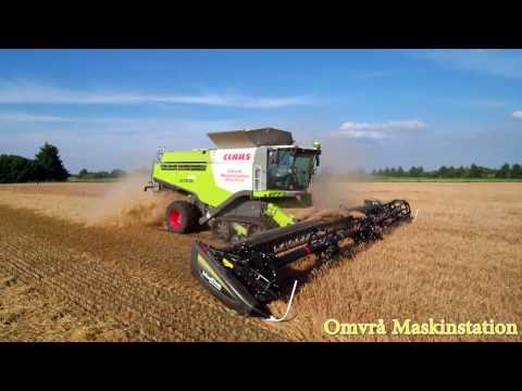 Claas Lexion 770 TerraTrac Combine harvester & Macdon D 65 Draper Header / Ernte 2016