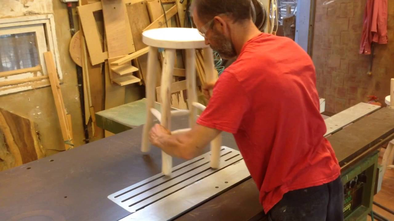 Rusticdavid Leveling Stool Or Chair Legs On The Table Saw