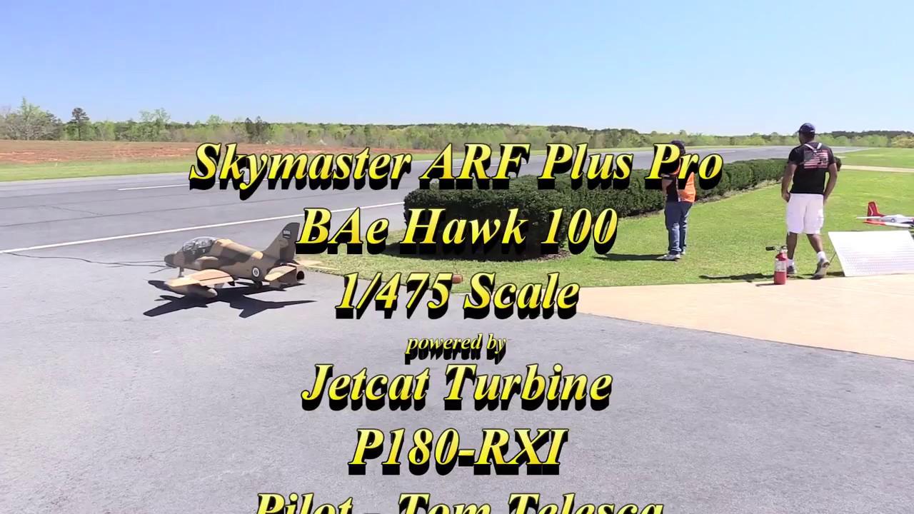 Tom Telesca - Skymaster ARF Plus Pro BAe Hawk - 4-1-2017