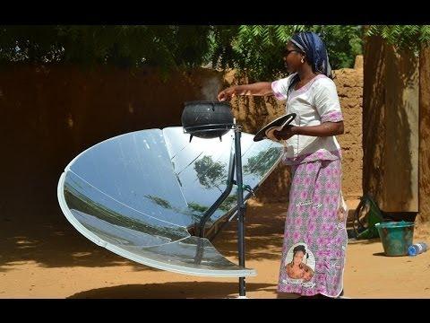 Four solaire solario safe con u pour les pays en d veloppement par focalis - Fours solaires en afrique ...