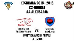 SJL Keskimaa 2015-2016, C2: Team KieHa vs. S-kiekko