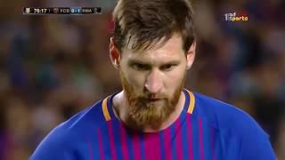 اهداف كلاسيكو الارض برشلونةXريال مدريد  (1-3) اليوم 14-8-2017