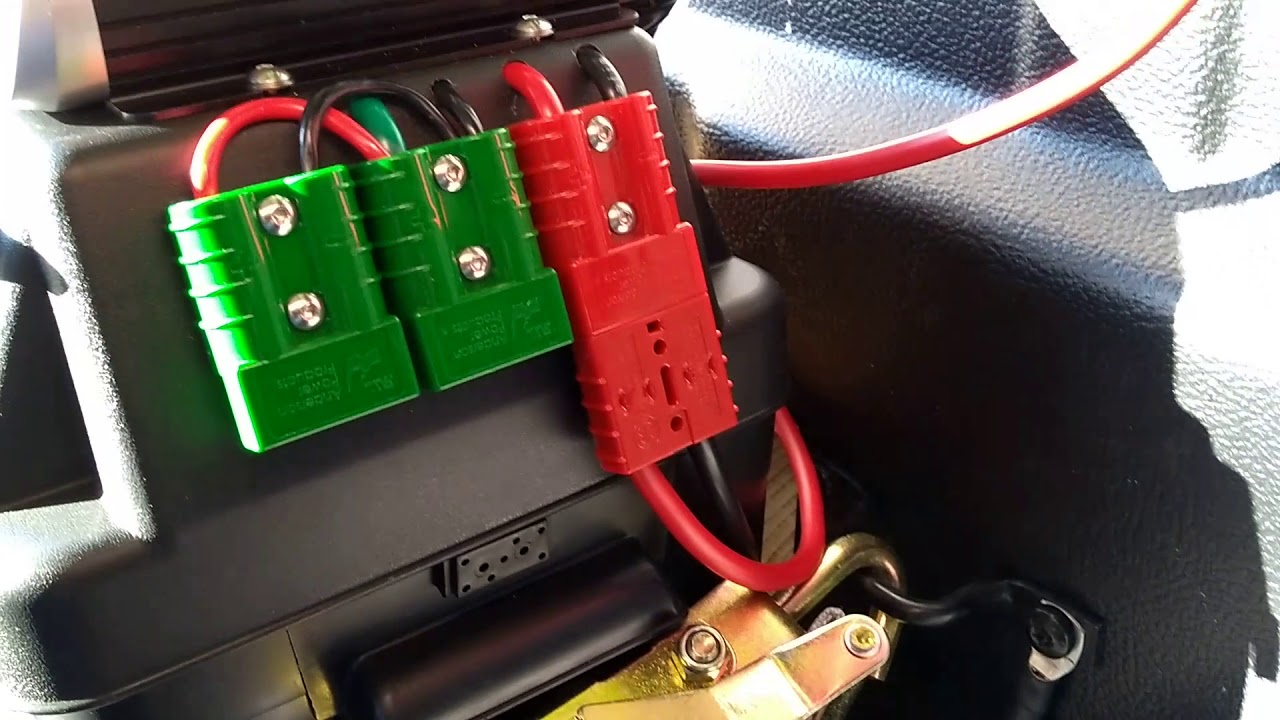Projecta Dual Battery Installation In Mazda Bt50