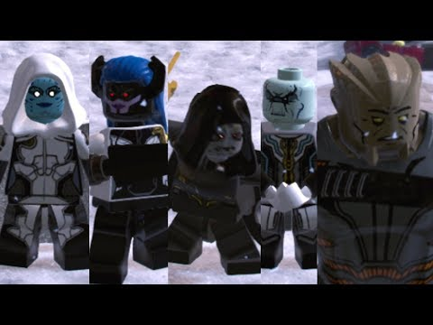 All The Black Order Characters - LEGO Marvel Super Heroes 2 - 동영상