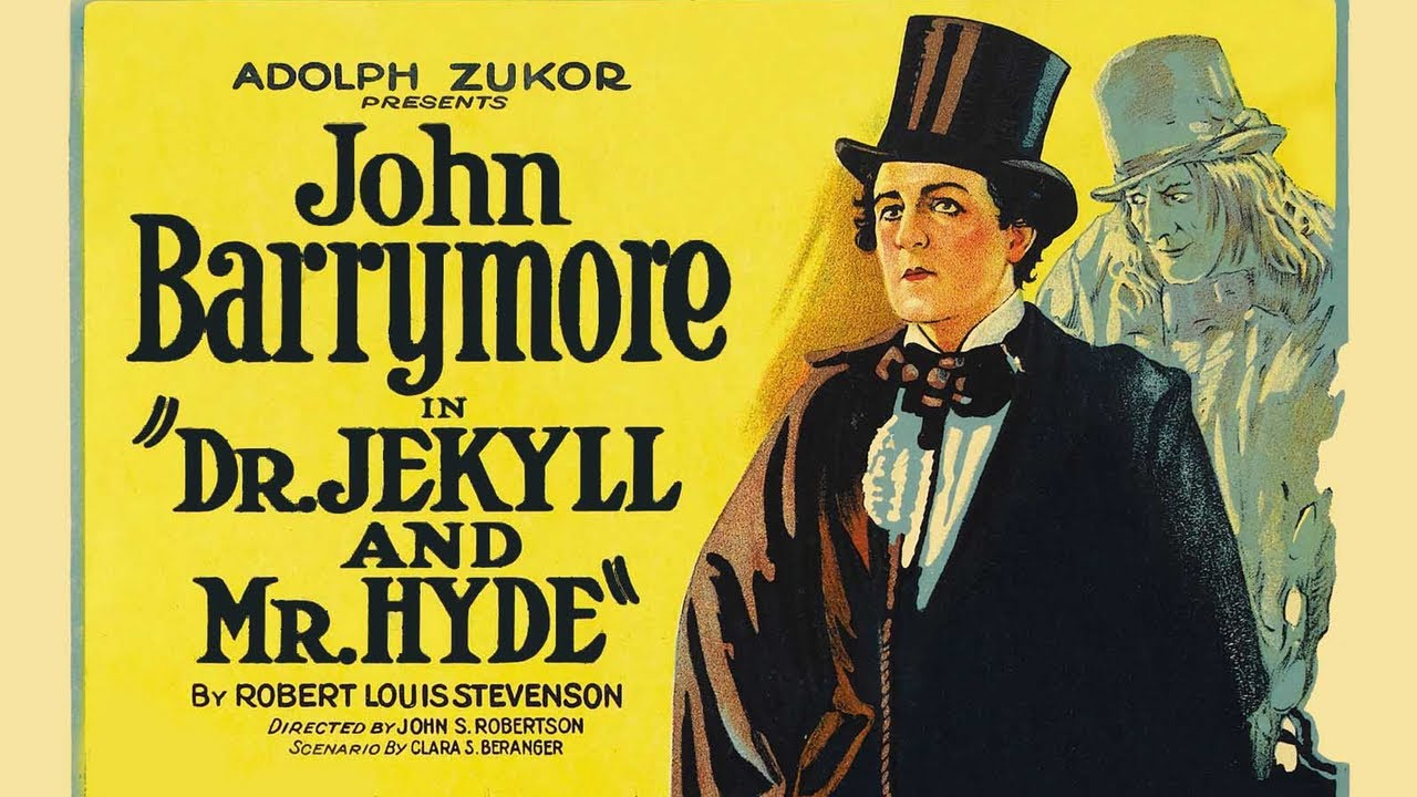 John Barrymore In Dr. Jekyll And Mr. Hyde 1920 - Full Hollywood ...