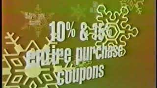 December 2001 - After Christmas Sale at Lazarus Department Stores
