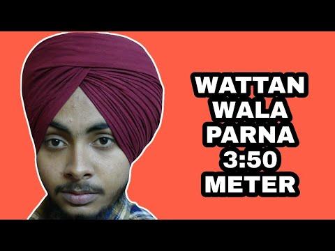 Easiest Way To Tie A Parna | Wattan Wala Parna | Tutorial | In Just 5 Mins
