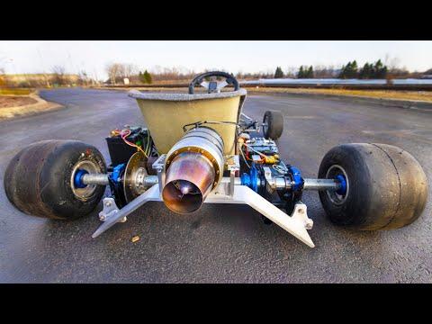 Jet Powered Go Kart